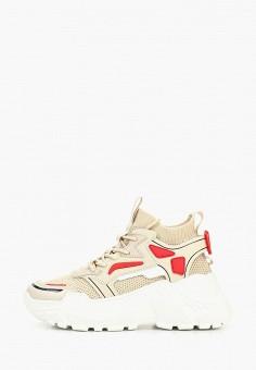 63b9615a Кроссовки, Strobbs, цвет: бежевый. Артикул: ST979AWEQPK1. Обувь / Кроссовки  и