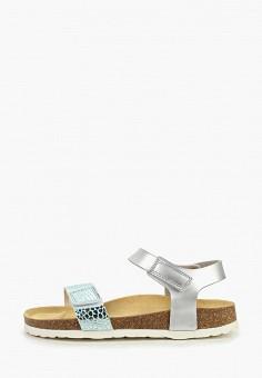 7226d245 Сандалии, Superfit, цвет: серый. Артикул: SU057AGENMP9. Девочкам / Обувь