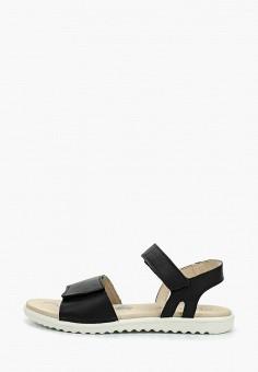 1038ea0b Сандалии, Superfit, цвет: черный. Артикул: SU057AGENMT1. Девочкам / Обувь