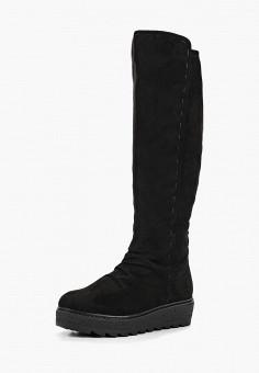 44fb8b3e952d Сапоги, Tamaris, цвет  черный. Артикул  TA171AWBZOQ5. Обувь   Сапоги