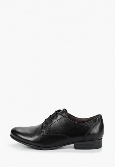 c5b8e871 Ботинки, Tamaris, цвет: черный. Артикул: TA171AWDTWB7. Обувь / Ботинки
