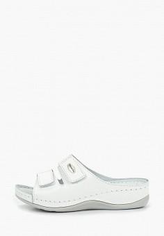 573a4141e6079 Сабо, Tamaris, цвет: белый. Артикул: TA171AWDTWN9. Обувь