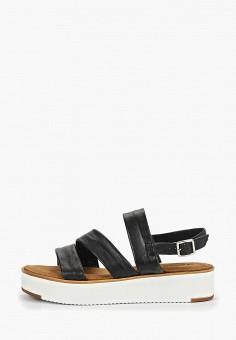 cfbf9d27 Сандалии, Tamaris, цвет: черный. Артикул: TA171AWDTWS7. Обувь / Сандалии