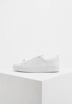 Кеды, Ted Baker London, цвет  белый. Артикул  TE019AWDLGC5. Обувь 6c50b9aaf75