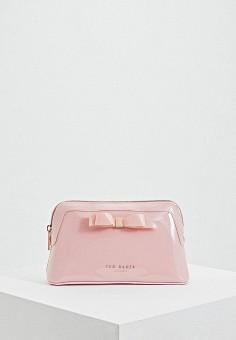 61f162bbd661 Косметичка, Ted Baker London, цвет: розовый. Артикул: TE019BWEHGL4.  Аксессуары /