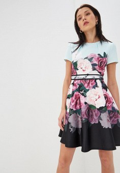 Платье, Ted Baker London, цвет: мультиколор. Артикул: TE019EWEHHC8. Premium / Одежда