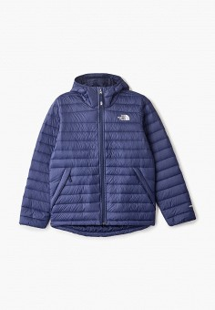 Пуховик, The North Face, цвет: синий. Артикул: TH016EBGMYX4. The North Face