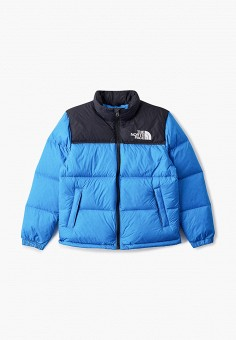 Пуховик, The North Face, цвет: синий. Артикул: TH016EBMATE2. The North Face