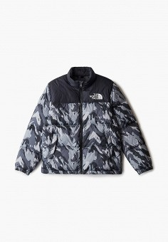 Пуховик, The North Face, цвет: серый. Артикул: TH016EBMATE5. The North Face