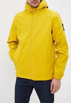 Ветровка, The North Face, цвет  желтый. Артикул  TH016EMEAPG3. Одежда   f0bc5a9ee96