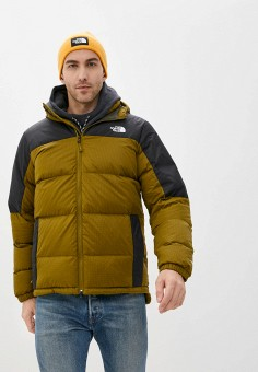 Пуховик, The North Face, цвет: хаки. Артикул: TH016EMKGDX3. The North Face