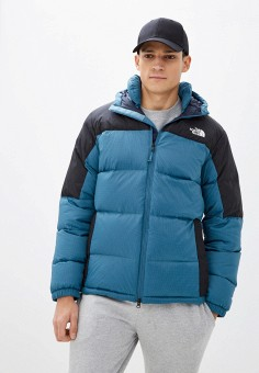 Пуховик, The North Face, цвет: голубой. Артикул: TH016EMKGDX4. The North Face