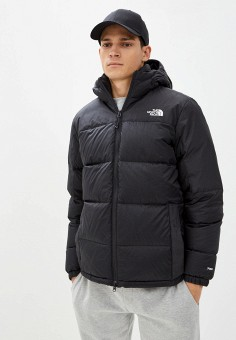 Пуховик, The North Face, цвет: черный. Артикул: TH016EMKGDX7. The North Face