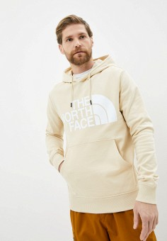 Худи, The North Face, цвет: бежевый. Артикул: TH016EMKGEQ1. The North Face