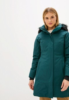 Пуховик, The North Face, цвет: зеленый. Артикул: TH016EWFQLY0. The North Face
