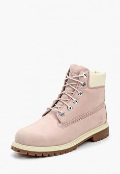 061550dbdf8e Ботинки, Timberland, цвет  розовый. Артикул  TI007AGVQT97. Timberland