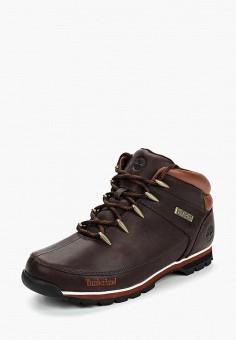Ботинки трекинговые, Timberland, цвет  коричневый. Артикул  TI007AMCGSI7.  Обувь 9549d7dd125