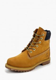 Тимберленды, Timberland, цвет  коричневый. Артикул  TI007AWCGSL1. Обувь    Ботинки   e83c5abdeae