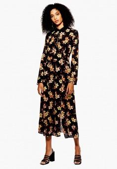 Платье, Topshop, цвет  черный. Артикул  TO029EWDPFD6. Одежда   Платья и f7865f061df