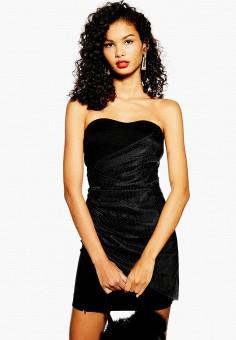 90eb9c98027bb06 Платье, Topshop, цвет: черный. Артикул: TO029EWEXWM4. Одежда / Платья и