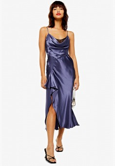 bd78d2d47e252d9 Платье, Topshop, цвет: фиолетовый. Артикул: TO029EWFHWI8. Одежда / Платья и