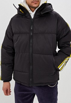 fc8770c5 Куртка утепленная, Topman, цвет: черный. Артикул: TO030EMEFRN8. Одежда /  Верхняя