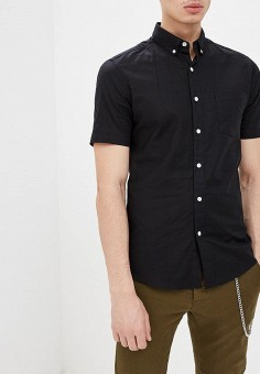 f1cceaf27f37632 Рубашка, Topman, цвет: черный. Артикул: TO030EMEZDU0. Одежда / Рубашки