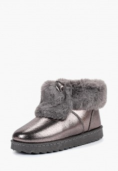 Полусапоги, Topland, цвет: серебряный. Артикул: TO048AWCTFH6. Обувь / Сапоги