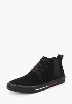 697fae7bf22b Кеды, Tommy Jeans, цвет  черный. Артикул  TO052AMBHPV1. Обувь   Кроссовки