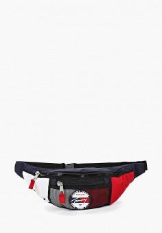 8d1c6893cac1 Сумка поясная, Tommy Jeans, цвет: мультиколор. Артикул: TO052BUDQUW8.  Аксессуары /