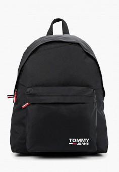 406c0571 Рюкзак, Tommy Jeans, цвет: черный. Артикул: TO052BUFISN9. Аксессуары /  Рюкзаки