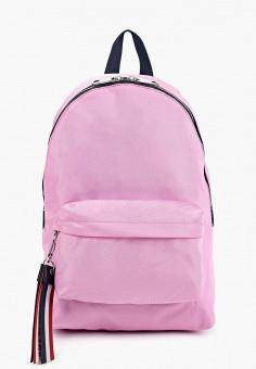 439f10c0279e Рюкзак, Tommy Jeans, цвет: розовый. Артикул: TO052BWDECV6. Аксессуары /  Рюкзаки