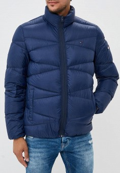 888e2acdd382 Пуховик, Tommy Jeans, цвет  синий. Артикул  TO052EMBHRS0. Одежда   Верхняя