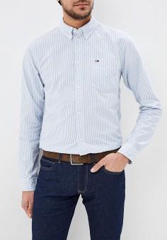 fb030316aef6 Рубашка, Tommy Jeans, цвет  голубой. Артикул  TO052EMDEBH0. Одежда   Рубашки