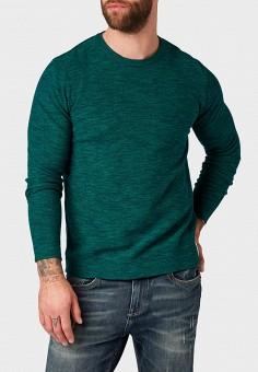 Джемпер, Tom Tailor, цвет  зеленый. Артикул  TO172EMDTMI7. Одежда   Джемперы 91b345ca356