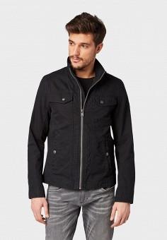 4b7fcac3 Куртка, Tom Tailor, цвет: черный. Артикул: TO172EMFHGP8. Одежда / Верхняя