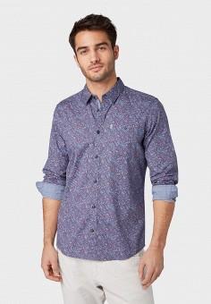b304738602b80e9 Рубашка, Tom Tailor, цвет: фиолетовый. Артикул: TO172EMFHGT8. Одежда /  Рубашки