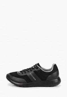 1c05ce512 Кроссовки, Tommy Hilfiger, цвет: черный. Артикул: TO263AMEJPG1. Обувь