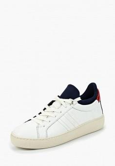 9cac960870a8 Кеды, Tommy Hilfiger, цвет  белый. Артикул  TO263AWBHQQ9. Обувь   Кроссовки