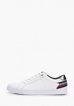 87ef9ae52514 Кеды, Tommy Hilfiger, цвет  белый. Артикул  TO263AWDDVU1. Обувь   Кроссовки