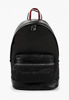 Рюкзак, Tommy Hilfiger, цвет  черный. Артикул  TO263BMDDZH5. Аксессуары    Рюкзаки 20374566cc9