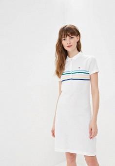 b6a0172bdf5a47c Платье, Tommy Hilfiger, цвет: белый. Артикул: TO263EWEJIY5. Tommy Hilfiger