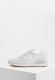 4931c59b Кроссовки, Trussardi Jeans, цвет: белый. Артикул: TR016AWDOCQ2. Обувь /  Кроссовки