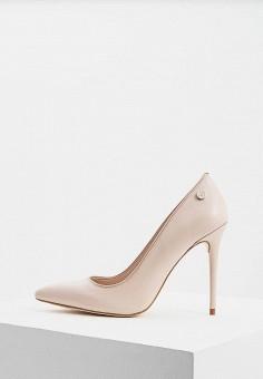 c23c8ab82 Туфли, Trussardi Jeans, цвет: бежевый. Артикул: TR016AWDOCR4. Premium /  Обувь