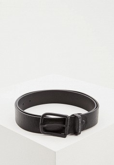 Ремень, Trussardi Jeans, цвет  черный. Артикул  TR016DMDOBG4. Аксессуары    Ремни 65a583ecb63