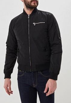 Куртка утепленная, Trussardi Jeans, цвет  черный. Артикул  TR016EMDOBW5.  Trussardi Jeans 4ff55d1e017