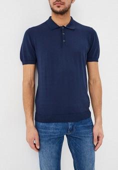 c01fdcbc7dd6 Поло, Trussardi Jeans, цвет  синий. Артикул  TR016EMDOBW8. Одежда   Футболки