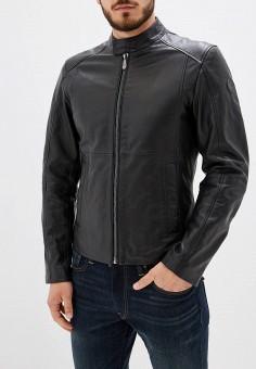 e61bc728ddea Купить мужские кожаные куртки Trussardi Jeans (Труссарди Джинс) от ...