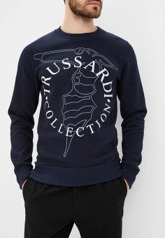 Свитшот, Trussardi Collection, цвет: синий. Артикул: TR031EMCUIU2. Trussardi Collection