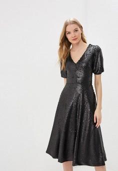 33dc8e80b84c8de Платье, Tutto Bene, цвет: черный. Артикул: TU009EWEXNZ1. Одежда / Платья
